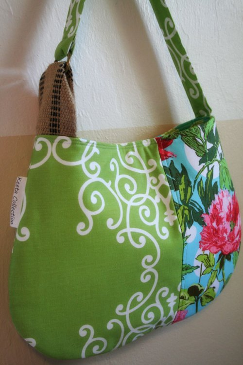 Handmade bag by Vicki Ray